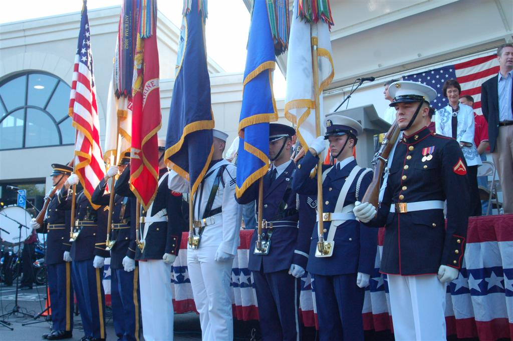 The Armed Forces Color Guard
